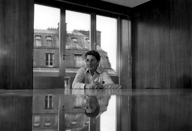 Gilbert Trigano (Club Méditerranée) © Georges Azenstarck