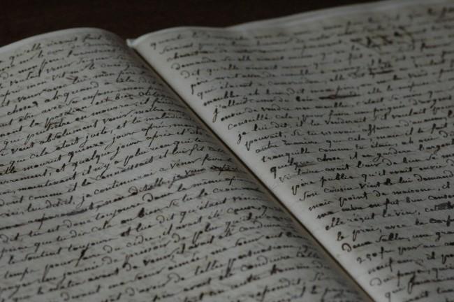 Le manuscrit de Rivière © Nicolas Philibert